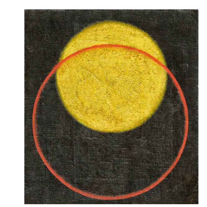 Page intérieure de la « La Genèse de la Genèse», illustrée avec la «Composition sans objet n° 61» d'Alexander Rodchenko