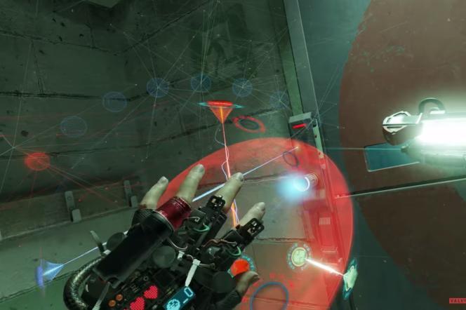 Pour progresser dans «Half-Life: Alyx», il faut déjouer plusieurs petits casse-tête qu'on manipule avec les mains.