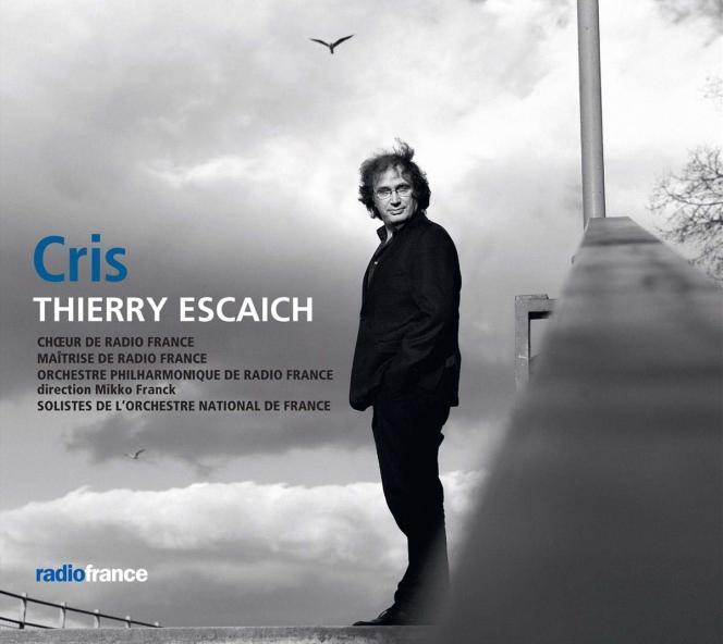 Pochette de l'album « Cris», de Thierry Escaich.