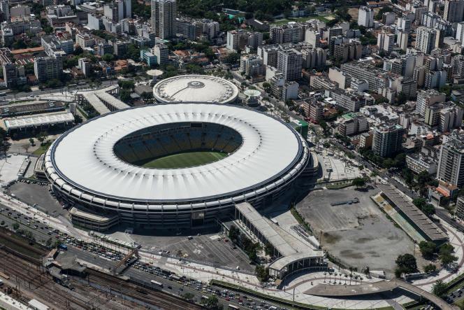 Le stade Maracana, au coeur de Rio de Janeiro, en 2013.