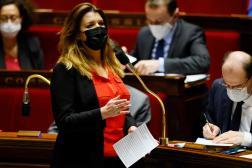 La ministre chargée de la citoyenneté, Marlène Schiappa, à l'Assemblée, le 23 mars.