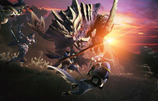 Magnamalo est le monstre-phare de «Monster Hunter : Rise».