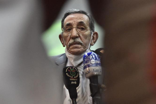 Le directeur des Archives nationales algériennes, Abdelmadjid Chikhi, à Alger, le 6août 2020.