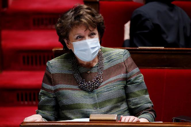Le ministre de la culture Roselyne Bachelot, le 16 mars à l'Assemblée nationale.