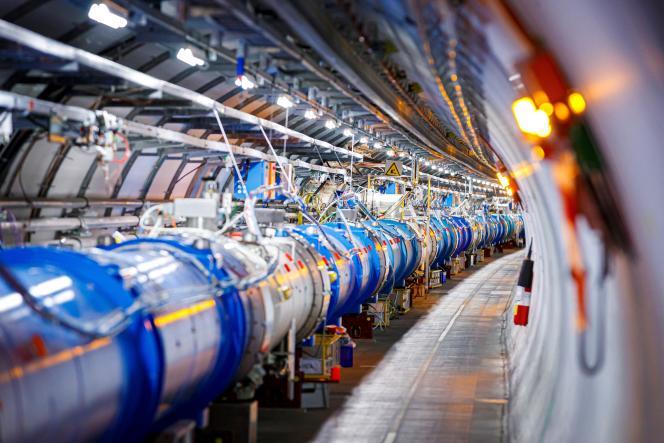 El acelerador de partículas CERN, en Echenevex (Ain), 6 de febrero de 2020.