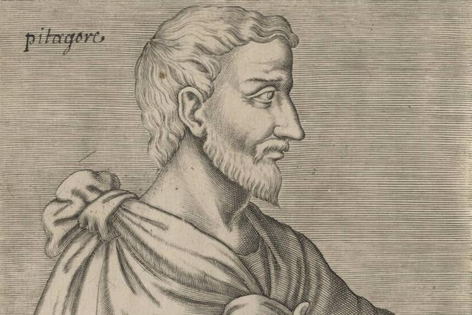 Portrait de Pythagore, philosophe grecpar Thévet, André, 1504-1592