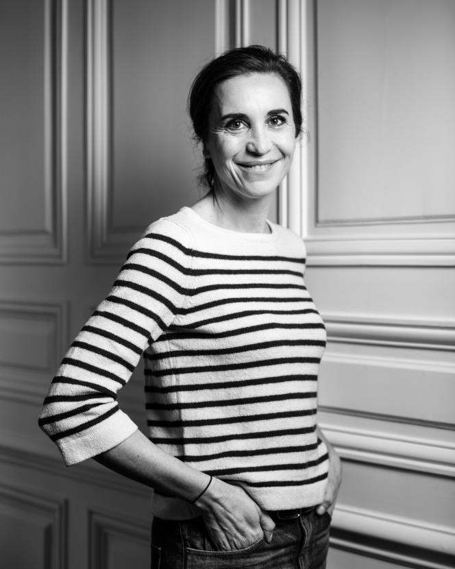 Mathilde Thomas, le 10 mars à Paris.