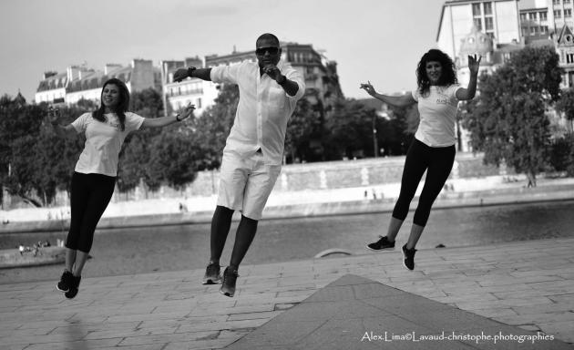 Cours de danse « Samba de Gafieira», d'Alex Lima.