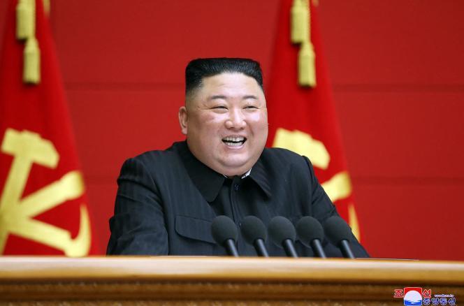 Le leader nord-coréen, Kim Jong-un, le 6 mars à Pyongyang.