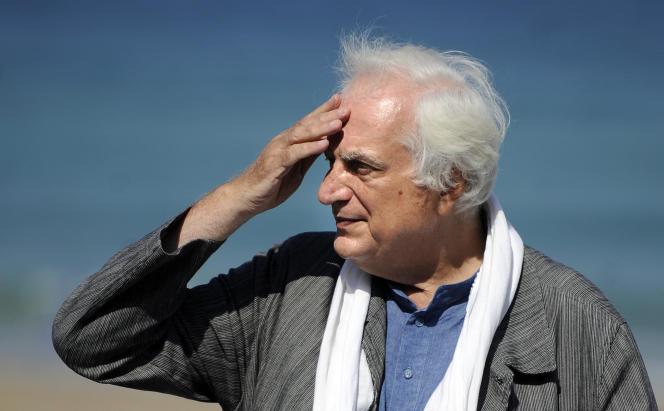 Bertrand Tavernier, au Festival de Saint-Sébastien (Espagne), en 2013.