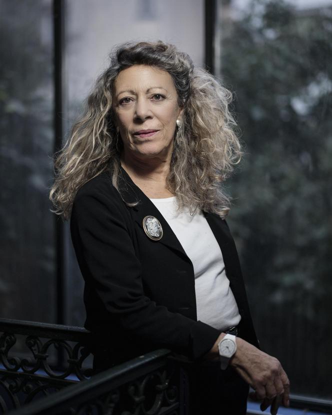 La philologue Barbara Cassin, à Paris, en février 2021.