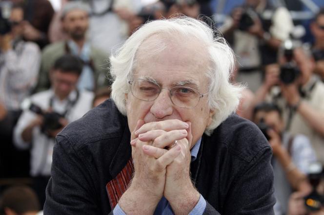 Bertrand Tavernier, au Festival de Cannes, en 2010.