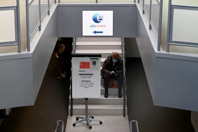 A l'agence Pôle emploi de Château-Gombert à Marseille, le 14 décembre 2020.