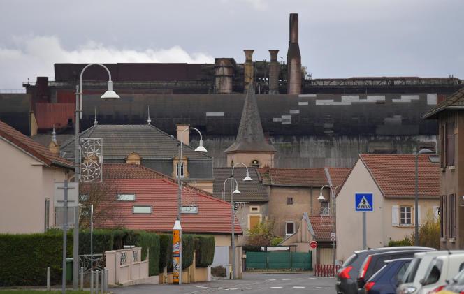 Le site de l'ancienne aciérie électrique d'ArcelorMittal à Gandrange (Moselle), en novembre 2016.