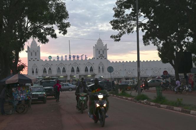 La gare de Bobo-Dioulasso dans le sud-ouest du Burkina Faso, en septembre 2019.