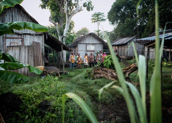 Le parfumeur se rend égalementà Madagascar, sur l'île de Nosy Be.