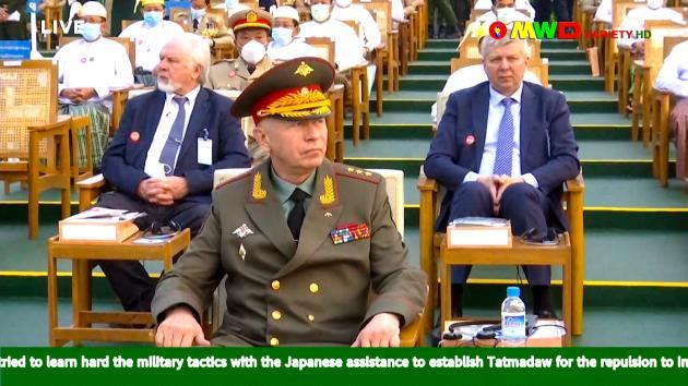 El viceministro de Defensa ruso, Alexander Fomin, asistirá a un desfile militar birmano en Yangon el 27 de marzo.