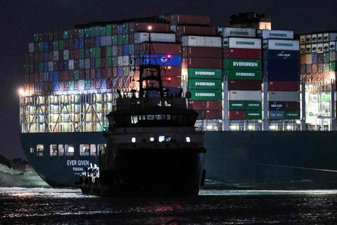 27 de marzo en el Canal de Suez (Egipto)