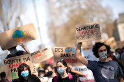 Une manifestation pour le climat s'était déjà tenue à Nantes le 28 mars.