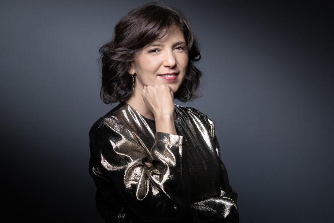 La réalisatrice tunisienne Kaouther Ben Hania à Paris, le 15 janvier 2021.