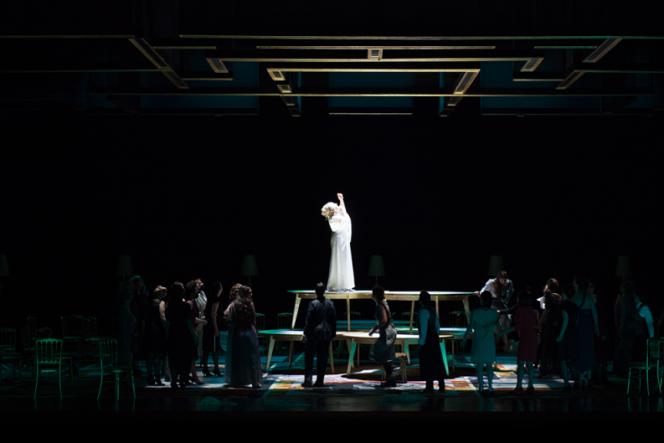 «Ariane et Barbe-Bleue», de Paul Dukas, à l'Opéra de Lyon, mars 2021.
