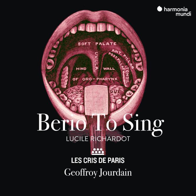 Pochette de l'album «Berio To Sing», par Les Cris de Paris.