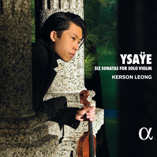 Pochette de l'album «Six sonates pour violon seul», d'Eugène Ysaÿe par Kerson Leong.