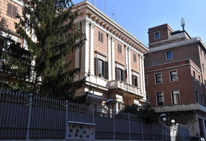 La Embajada de Rusia en Roma confirma la detención de