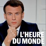 Emmanuel Macron lors de son allocution télévisée du mercredi 31 mars.