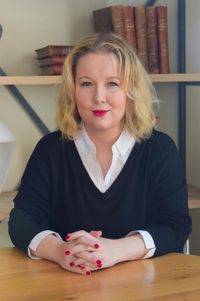 Hélène Rossinot, au Clos Jeannon, à Villers-lès-Nancy (Meurthe-et-Moselle), en octobre 2020.