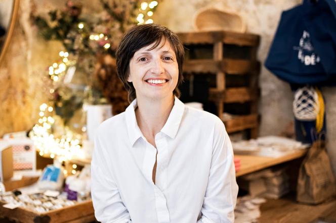 Julia Sammut a ouvert son épicerie-delicatessen dans le quartier Noailles, à Marseille, en2016.