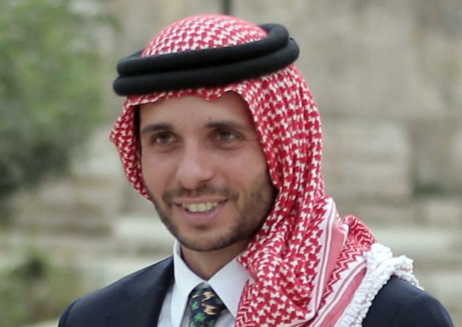 Prince Hamza Ben Hussein, à Amman (Jordanie), en 2015.