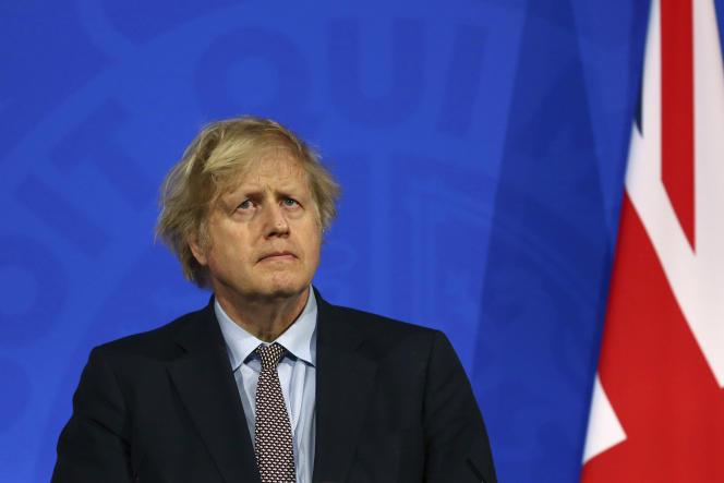 Le premier ministre Boris Johnson, le 29 mars à Londres.