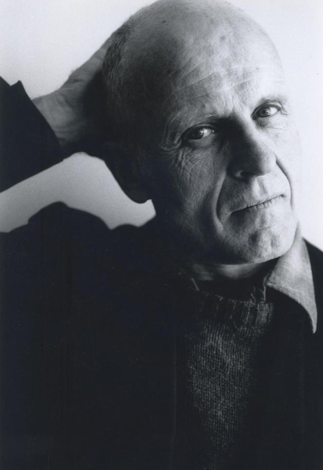 Jean Dupuy, à New York, en 1990.
