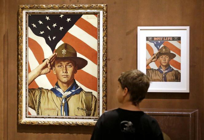 Des tableaux de Norman Rockwell au secours des scouts américains