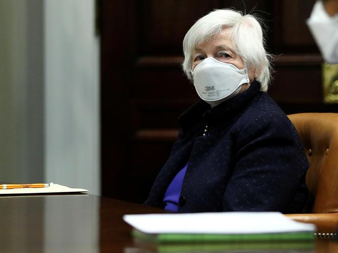 La ministre américaine des Finances, Janet Yellen, défend une offre d'harmonisation fiscale aux États pour garantir leur rôle.