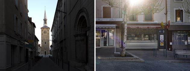 Le glas de la Tour Jacquemart, monument emblématique de la ville, a sonné en hommage au victimes de l'attentat. Letabac-presse Le Flash, le 3 avril.