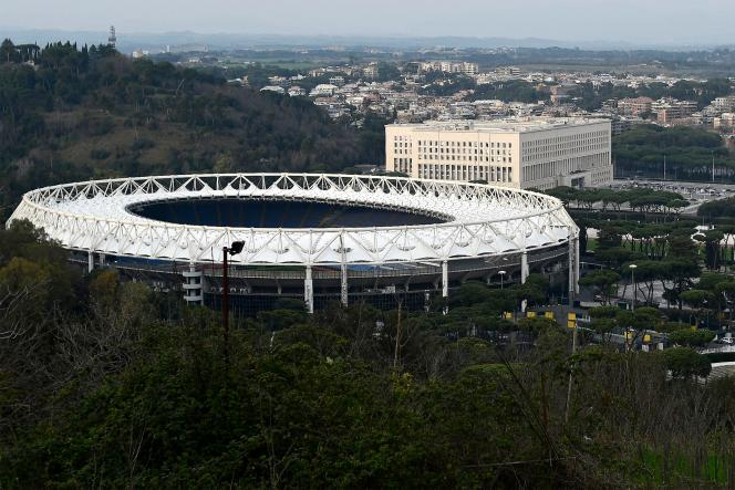 Le stade Olympique de Rome.