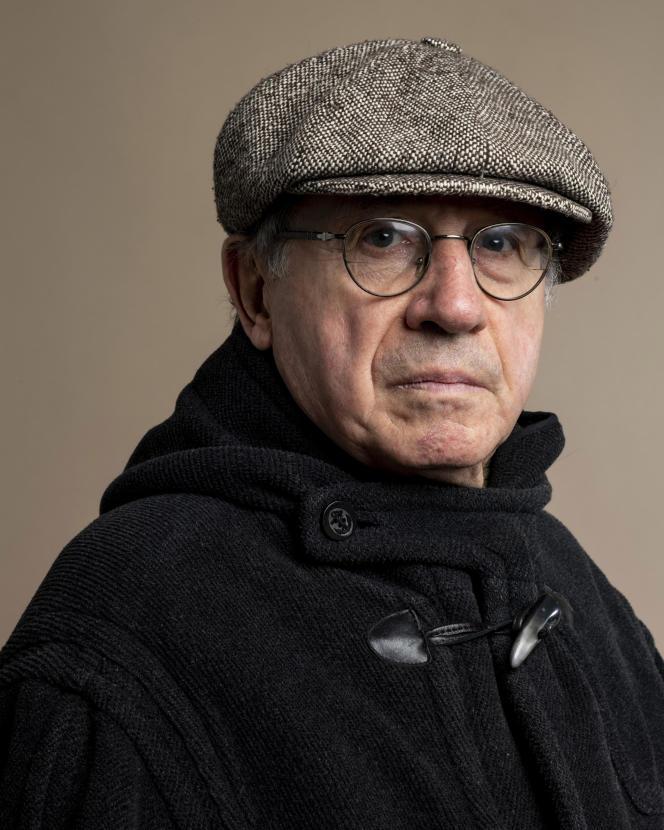 L'écrivain Denis Grozdanovitch, à Paris, en 2020.