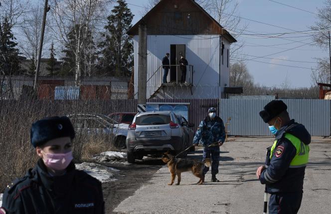 Alexeï Navalny está detenido desde febrero en la colonia penal de Pokrov, a 100 kilómetros al este de Moscú.