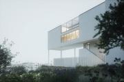La future villa Zilveli (vue d'artiste), à Paris.