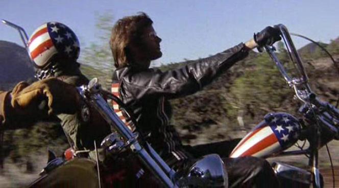 Peter Fonda, dans«Easy Rider»(1969).