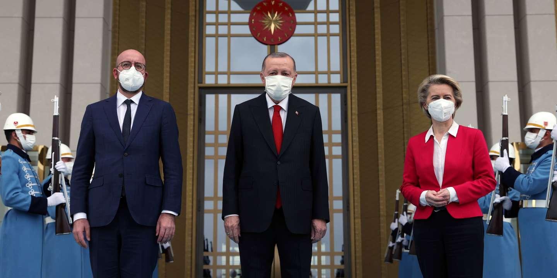 On visit to Ankara, European leaders offer