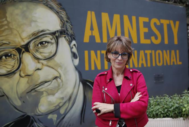 Agnès Callamard, secrétaire générale d'Amnesty International