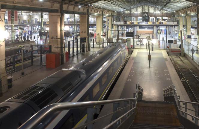La gare du Nord, à Paris, le 10 décembre 2020.