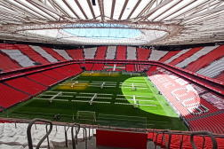 Le stade San Mamés, à Bilbao, en Espagne.