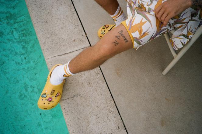 Les Crocs de Justin Bieber.