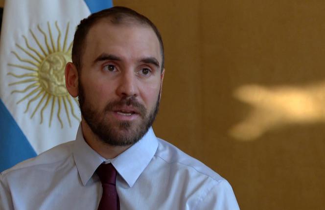 Le ministre argentin de l'économie, Martin Guzman, à Buenos Aires, le 28 mai 2020.