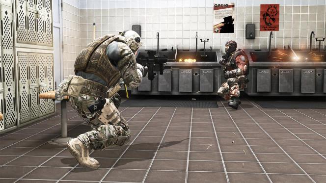Une scène d'« America's Army».