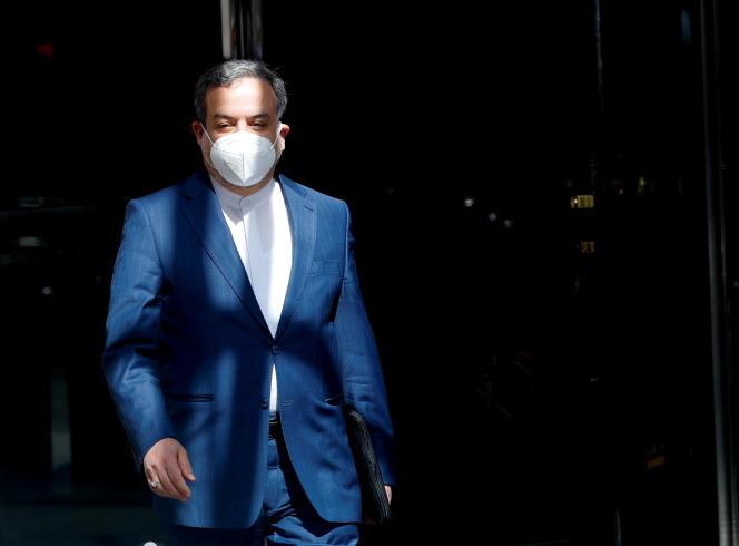Le négociateur en chef iranien Abbas Araghchile 9 avril 2021 à Vienne.